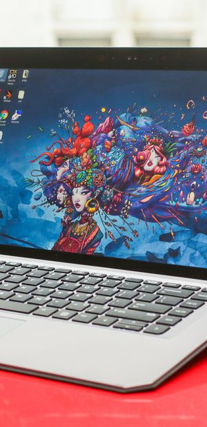 The perfect laptop for a cluster of creatives