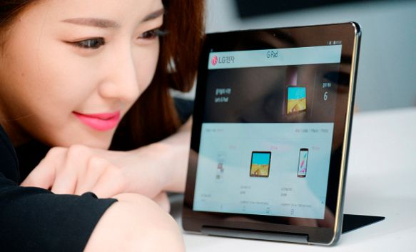LG G Pad III is a 10.1-inch LTE Android Tablet with a Kickstand
